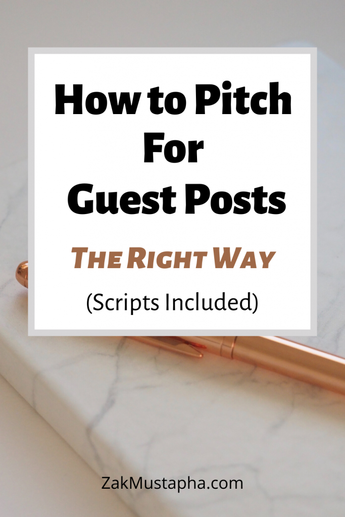 How to Pitch for Guest Posting
