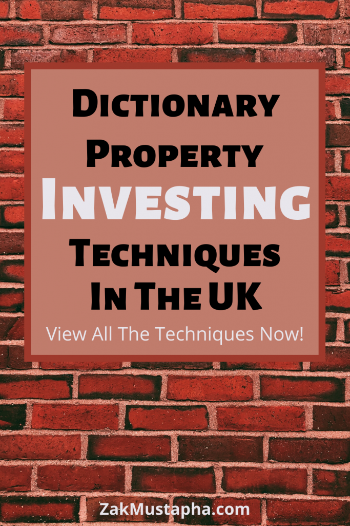 The Dictionary of Property Investing Strategies (Every Single Strategy from A-Z)